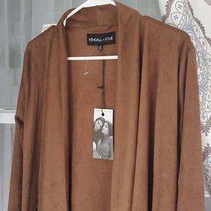 Kendall & Kylie Suede Jacket
